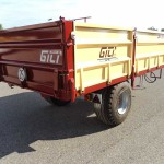Trailers and agricultural trailers