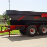 Industrial dumper trailers