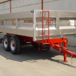 Stainless steel dumper trailers